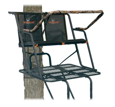 Two Person Tree Ladder Stand Hunting Blind The Spector